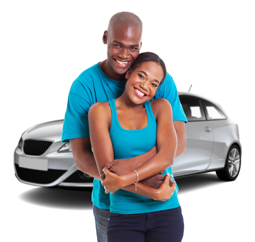 couple with car